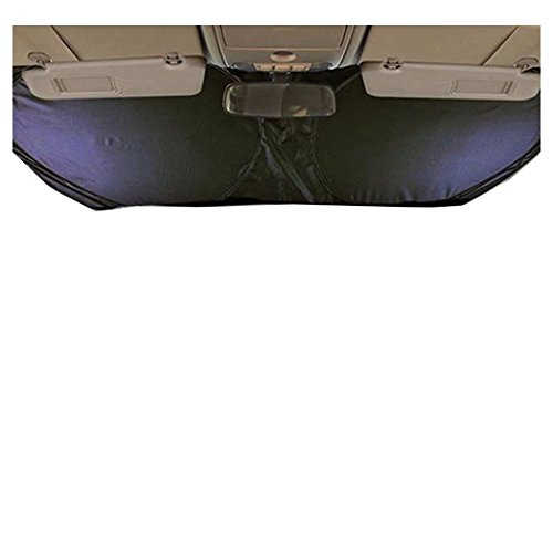 JUJUMALL-Fancy Folding Jumbo Front Car Window Sun Shade Auto Visor Windshield Block - Mall Outlet Syracuse