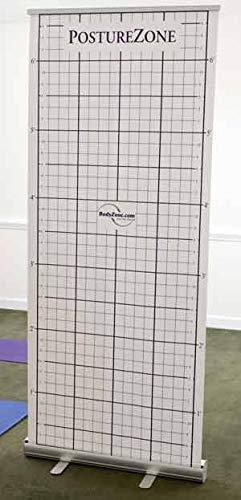 - Posture Grid for Posture Assessment - Retractable Portable Grid