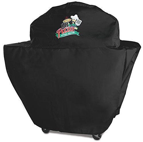 Mr. Pizza 07411MP Premium Oven and Grill with Cart Cover, Black