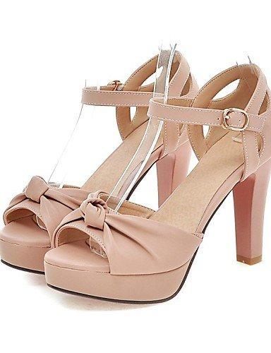 LFNLYX Zapatos de mujer-Tacón Robusto-Tacones / Comfort / Innovador / Botas a la Moda / Zapatos y Bolsos a Juego / Zapatillas-Sandalias / Green