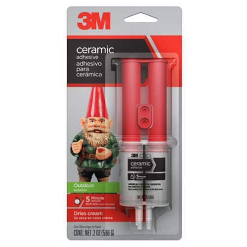 3M 18042 1 1 Ceramic Adhesive for Outdoor Surfaces.20-Ounce by 3M
