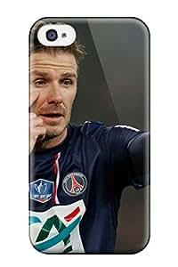 Evelyn Alas Elder's Shop Hot Defender Case For Iphone 4/4s, David Beckham Soccer Pattern