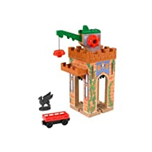 Fisher-Price Thomas the Train Wooden Railway Castle Crane by Fisher-Price Thomas