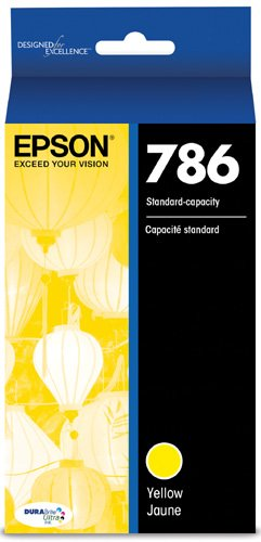 Standard Capacity Yellow Cartridge - Epson T786420 DURABrite Ultra Standard-Capacity Ink Cartridge, Yellow Ink