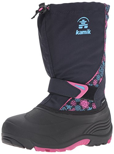 Kamik Kids Sleet2 Snow Boot Navy/Magenta