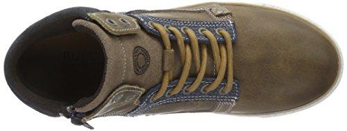 Bullboxer AGM510E6L - Zapatillas altas para niños Marrón (Tpbl)