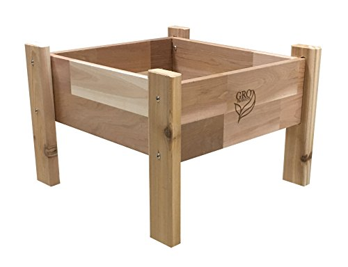 Gro Products 18-EGB1-1616 Elevated Garden Bed, 16 x 16 x 12, ()
