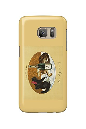 champagne-pol-roger-c-1921-vintage-poster-galaxy-s7-cell-phone-case-slim-barely-there