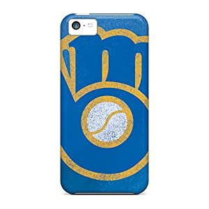 New Iphone 5c Case Cover Casing(milwaukee Brewers)