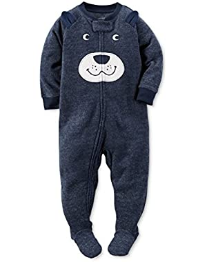 Carter's Baby Boys 1-Pc. Bear Footed Pajamas, 3T
