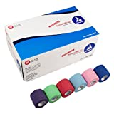 Dynarex Sensi Wrap, Rainbow Color, 2 Inches X 5 Yards, 36 Count, Health Care Stuffs