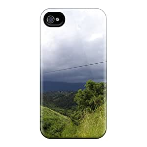 Unique Design Iphone 6 Durable Cases Covers Hills Clouds