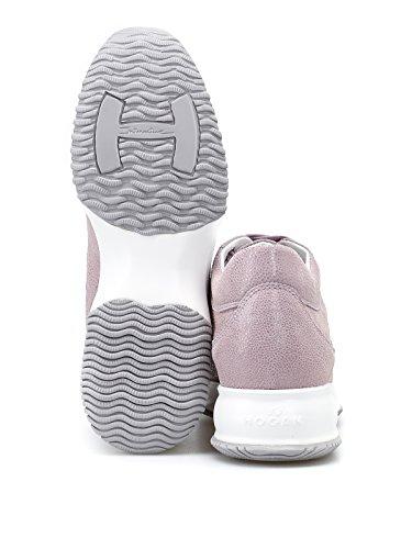 Pelle Hogan HXW00N00E30I6FL809 Rosa Donna Sneakers qaZ1A4