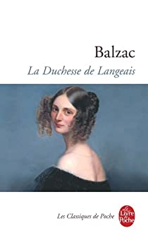 La Duchesse de Langeais par Balzac