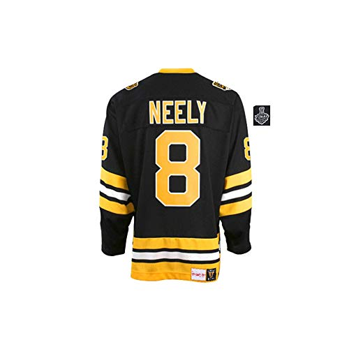 Men/Women/Youth_Cam_Neely_Black_2019_Stanley_Cup_Final_Bound_Throwback_Authentic_Jersey