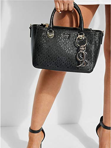 GUESS Society Black Small Tamra Satchel rgwr81