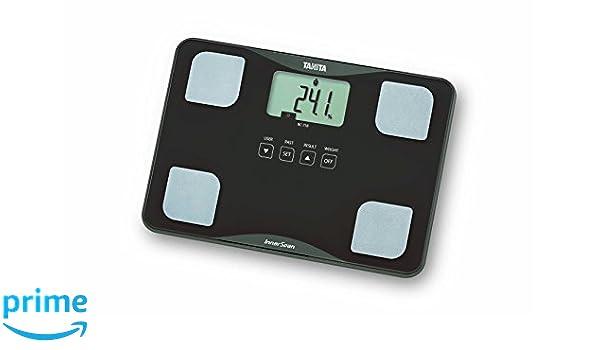Tanita BC-718 - Analizador de composición corporal, de vidrio ultrafino, color marrón: Amazon.es: Salud y cuidado personal