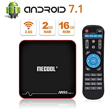 Amazon com: Mecool M8s Pro L Android 7 1 TV Box 3GB RAM 32GB ROM