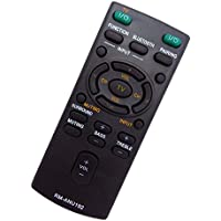 Replaced New RM-ANU192 Sound Bar REMOTE fit for SONY Sound bar HT-CT60BT SS-WCT60 HT-CT60 SA-CT60 SA-CT60BT HTCT60BT SSWCT60 HTCT60 SACT60 SACT60BT