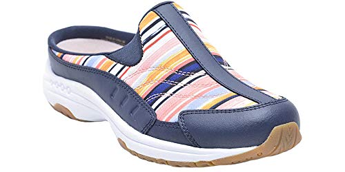 Easy Spirit Women's Traveltime Mule (8.5 M US, Dark Blue) -