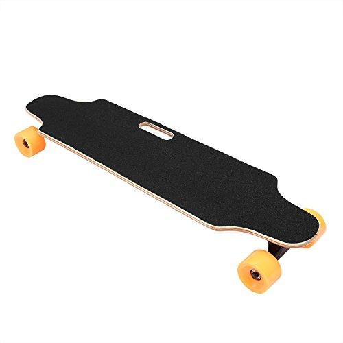 Hufcor Motorized Electric Skateboard 36 Inch Maple Electric Longboard Skateboard by Hufcor