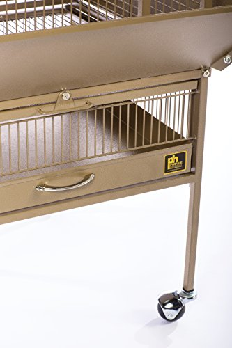 Prevue Pet Products 3351COCO Park Plaza Bird Cage, Coco Brown