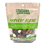 Snack Bags, Mixed Nut and Trail Mix, Raw Almonds, Dried Fruit, Seeds, Raisins, Yogurt, Great Unique Flavors for a Healthy Treat - Harvest Blend - 1 Pack
