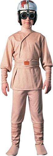 Boys Anakin Skywalker Kids Child Fancy Dress Party Halloween Costume, M (5-7) -