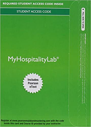 Mylab hospitality with pearson etext access card for exploring mylab hospitality with pearson etext access card for exploring the hospitality industry 3rd edition fandeluxe Images