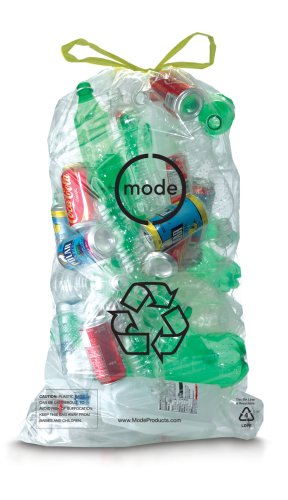 Mode 10-Gallon Recyclable Bin Liners, fits Mode RCC500