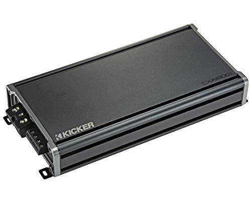 Kicker 46CXA18001 Car Audio Class D Amp Mono 3600W Peak Sub Amplifier CXA1800.1