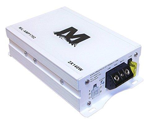 Kenwood KDC115U Stereo Receiver Bundle + 2 Kicker 6 5