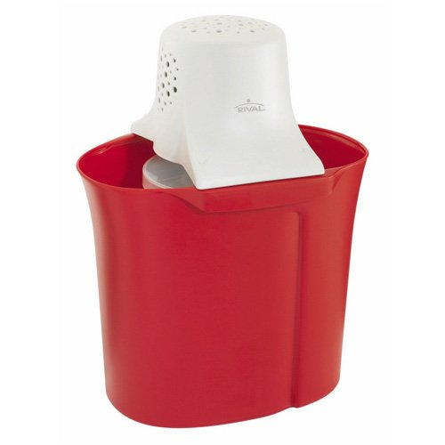Rival 4-Quart Red Ice Cream Maker FRRVCB40-RD