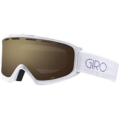 Giro Goggles Index Red/Black 50/50 Amber Rose - Giro Index Otg Snow Goggles