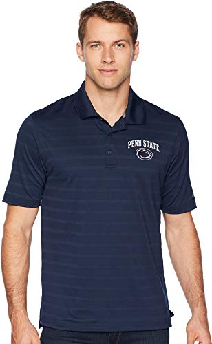 NCAA Champion Men's Textured Solid Polo, Penn State Nittany Lions, XX-Large ()