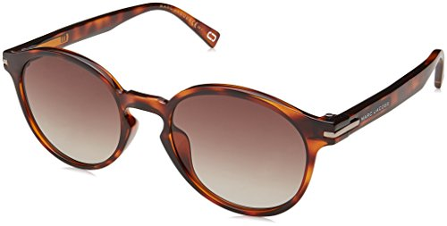Marc Jacobs Women's Round Sunglasses, Havana/Brown, One - Jacobs By Havana Marc Sunglasses Marc