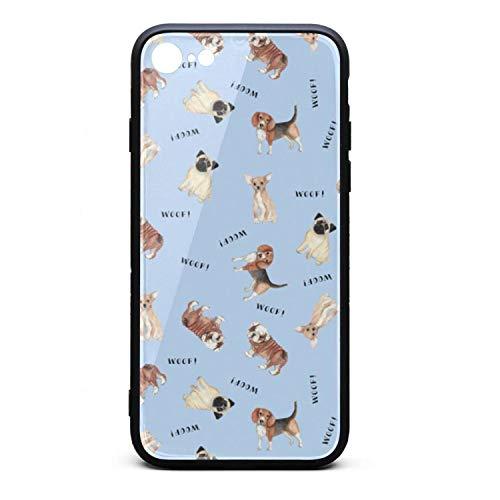 Maltese Jack Russell (Pug Chihuahua Bulldog woof Casual iPhone 6 Case,iPhone 6s Case Shock-Absorption Flexible Soft Rubber TPU Bumper/Anti-Finger/Anti-Scratch/Phone Case for iPhone 6 Case/iPhone 6s Case)