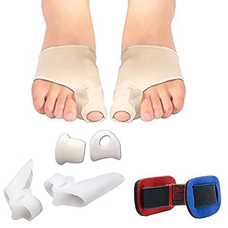 Set de 7 piezas de corrector de juanetes, utensilios para el cuidado de los pies, de silicona ortopédica ...