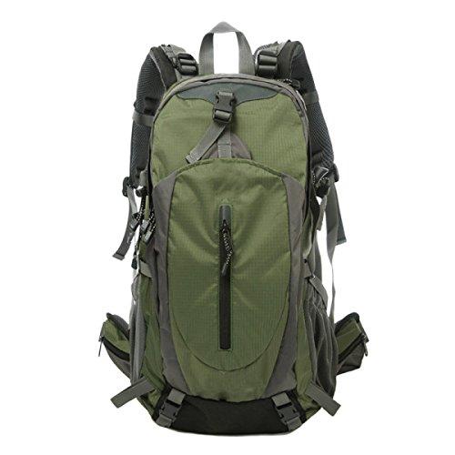 TUOZA Para Hombre Del Alpinismo Al Aire Libre Mochila De Viaje Duradero,Blue-OneSize Green