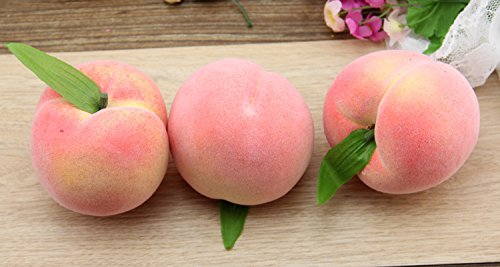 Artificial-Juicy-Peaches-Simulation-Fake-Fruits-Peaches-with-Leaf-Photo-Props-Home-Decoration-X-5Pcs