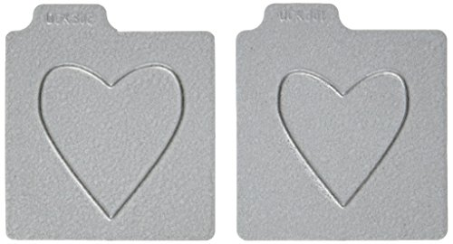 QUICKUTZ We R Memory Keepers 2-Inch by 2-Inch Die, Heart