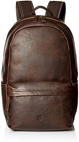 Timberland Mens DB5003 Tuckerman Leather Backpack Backpacks