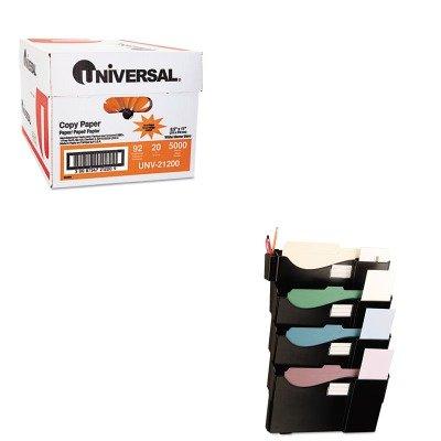 KITUNV08137UNV21200 - Value Kit - Universal Grande Central Filing System (UNV08137) and Universal Copy Paper (UNV21200)