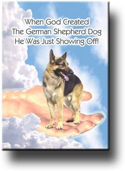 "German Shepherd refrigerator magnet 2 1//2/"" x 3  1//2/"""