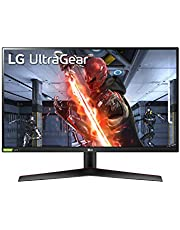 $396 » LG 27GN800-B 27 Inch Ultragear QHD (2560 x 1440) IPS Gaming Monitor with IPS 1ms (GtG) Response Time / 144Hz Refresh Rate and NVIDIA G-SYNC Compatible with AMD FreeSync Premium - Black