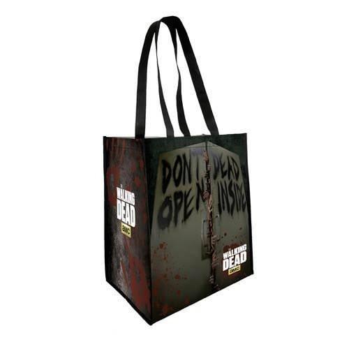 The Coop Walking Dead Don't Open Dead Insiden Shopping Tote by Animewild