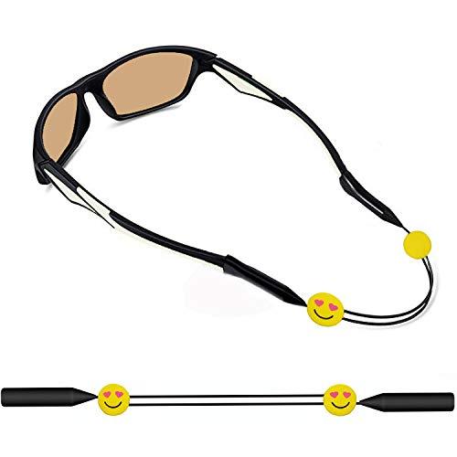 KSACLE Kids Glasses Strap Anti-Slip Eyeglass Strap Adjustable Sports Glasses Strap Holder Sunglasses Retainer for Boys Girls ()