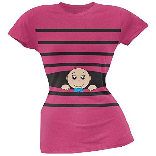 Old Glory Damen T-Shirt Rosa Pink