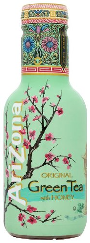 Arizona Original Green Tea With Honey 500 ml (Pack of 6)