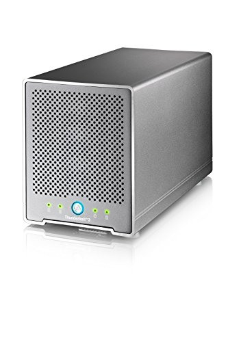 Thunder3 Quad Mini (Thunderbolt3 4-Bay Enclosure Only) - MacOS and Windows Certified by Akitio